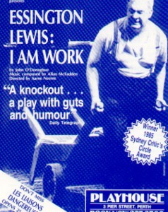 Flyer - Geoff Gibbs as Essington Lewis